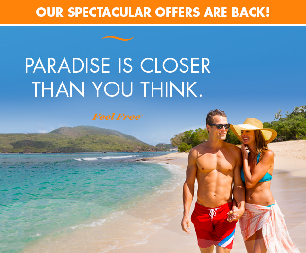 Paradise is closer than you think.