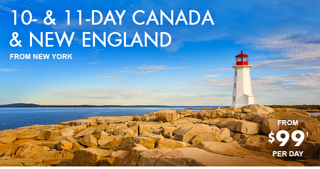 10- & 11-Day Canada & New England