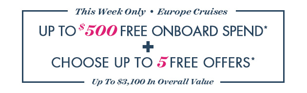 Up To $500 Free Onboard Spend