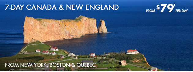 7-Day  Canada & New England