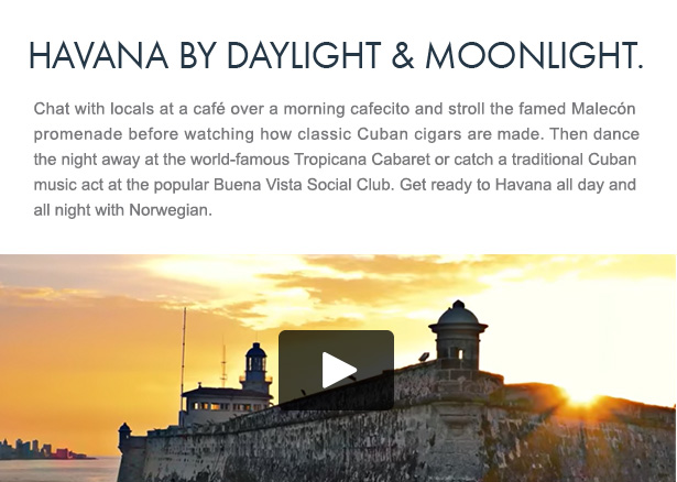 Havana by Daylight & Moonlight
